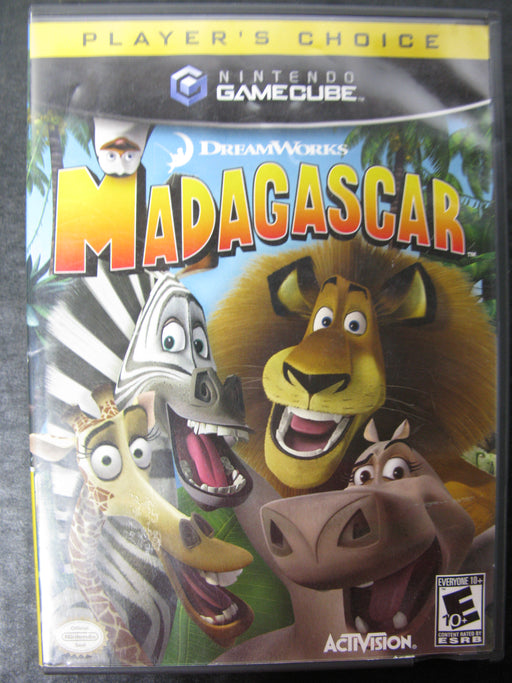 Nintendo GameCube DreamWorks Madagascar Player's Choice