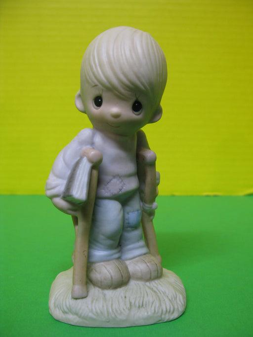 """He Watches Over Us All"" Porcelain Figurine"