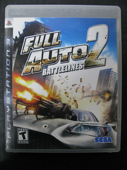 PS3 Full Auto Battlelines 2