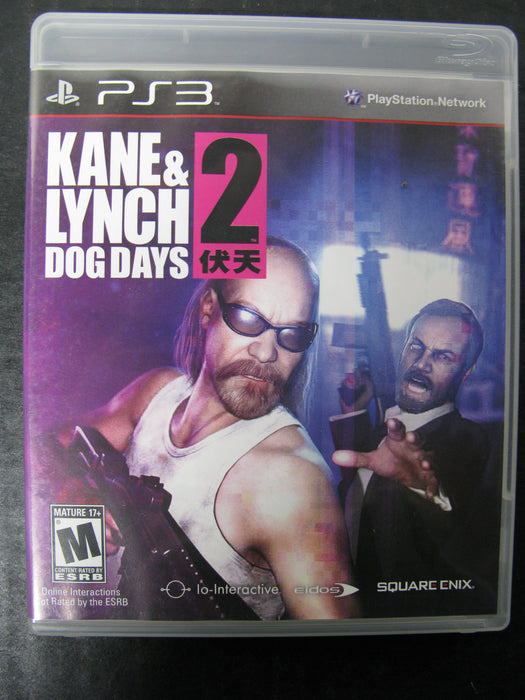 PS3 Kane and Lynch Dog Days 2