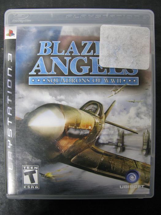 PS3 Blazing Angels Squadrons of WWII