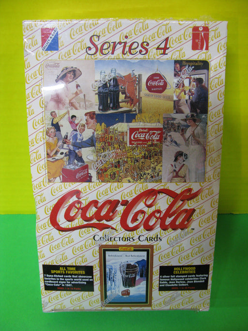 Coca Cola Collectors Cards Series 4