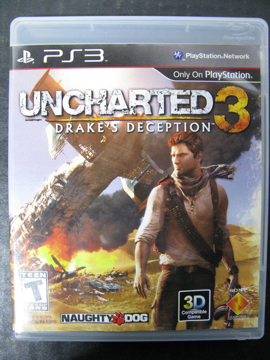 PS3 Uncharted 3 Drake's Deception