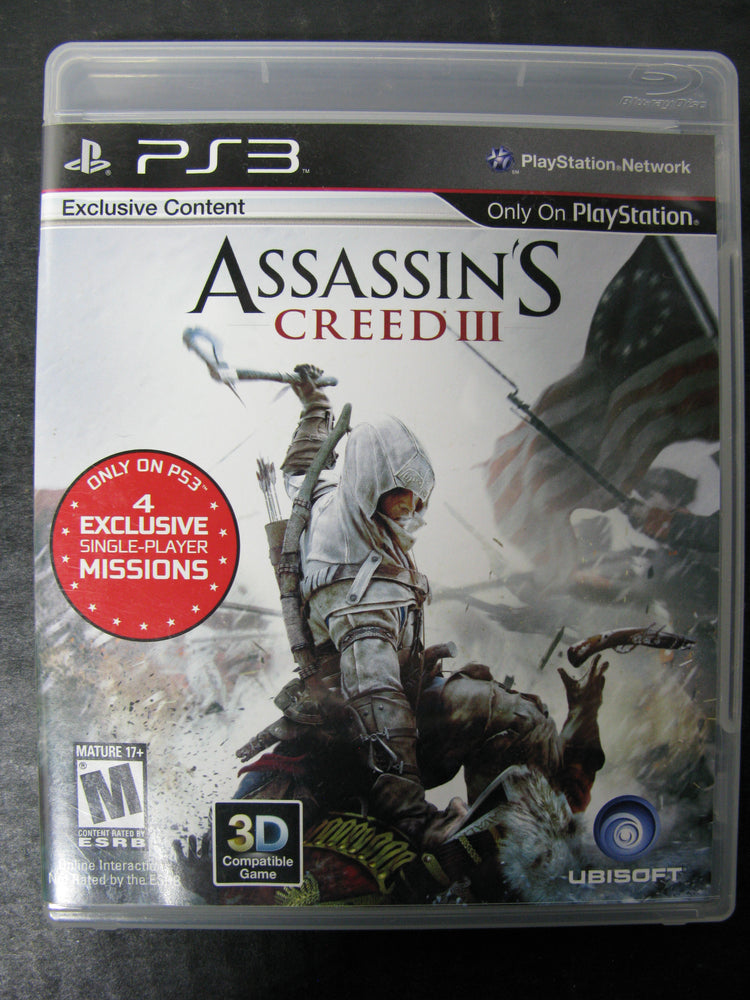 PS3 Assassin's Creed III