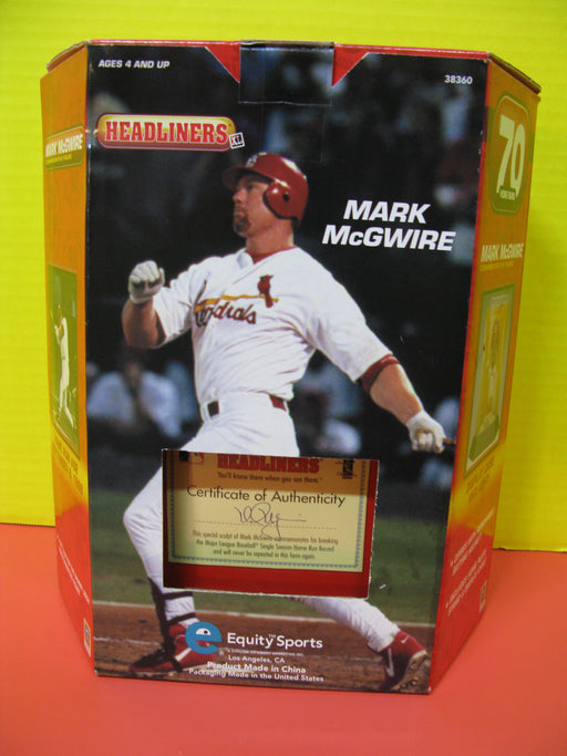 Mark McGwire Commemorative Figure
