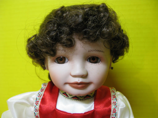 Natasha Russian Girl Porcelain Doll