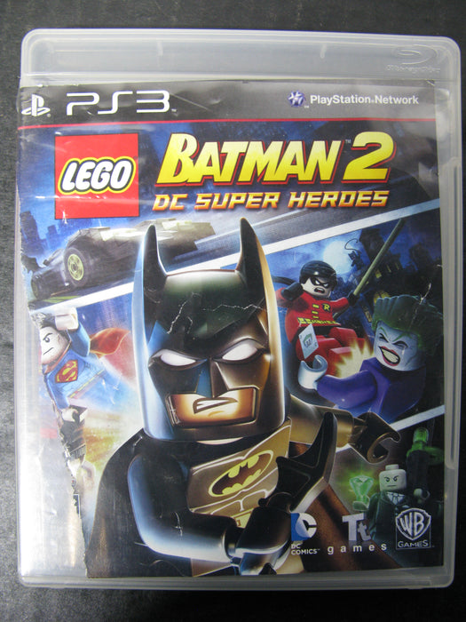 PS3 Batman 2 DC Super Heroes