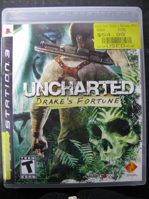 PS3 Uncharted Drake's Fortune