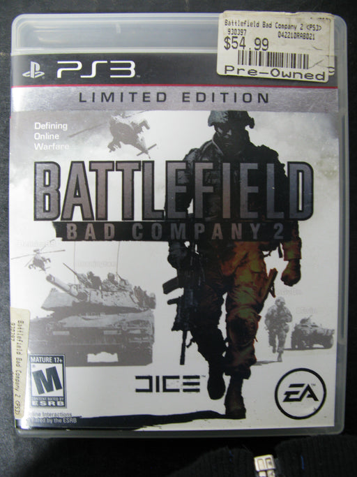 PS3 BattleField Bad Company 2