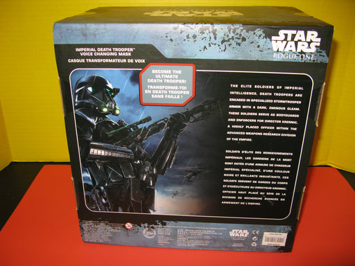 Star Wars Rouge One Imperial Death Trooper Voice Changing Mask