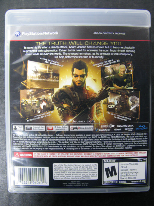 PS3 Deus Ex Human Revolution