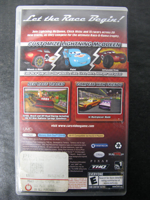 PSP Disney Cars Race O Rama