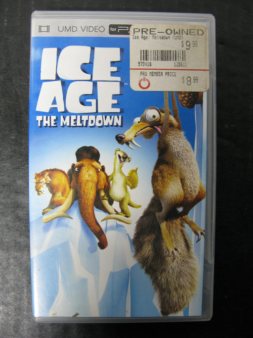 PSP UMD Video Ice Age The Meltdown
