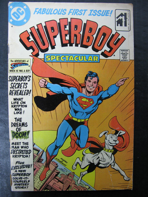 Superboy Spectacular Vol.1 No.1, 1980 Comic