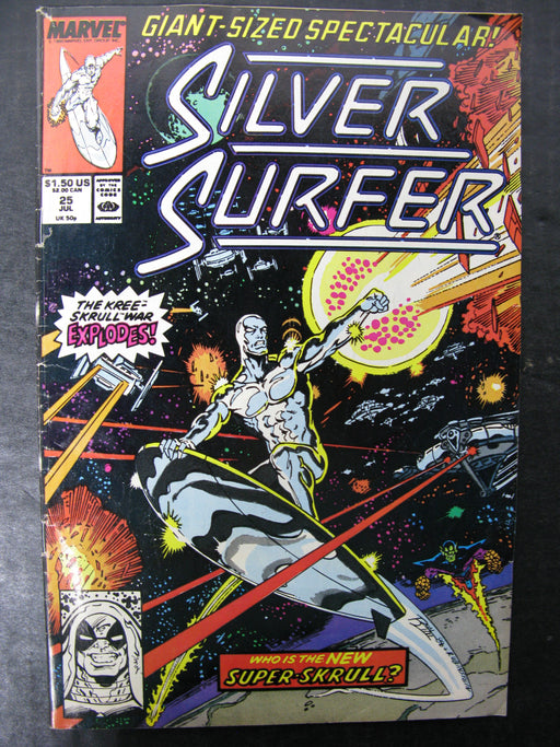 Silver Surfer Vol.3 No.25, July 1989 Comic