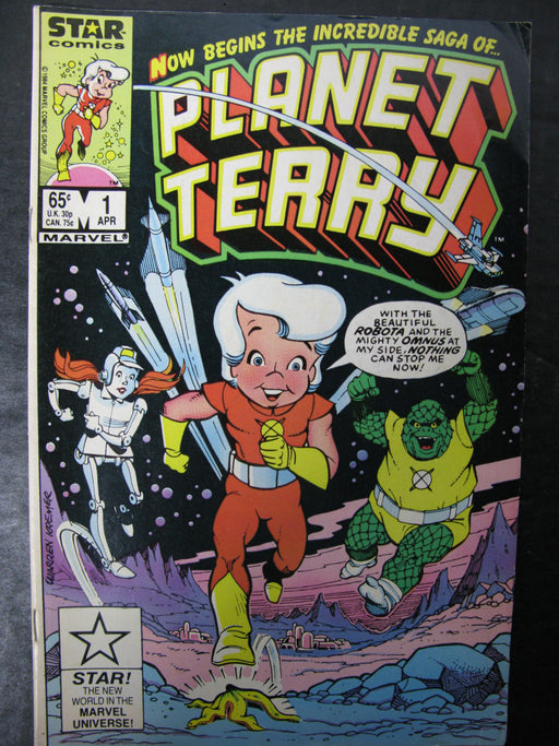 Planet Terry Vol.1 No.1, April 1985 Comic