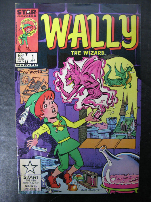 Wally The Wizard Vol.1 No.1, April 1985 Comic
