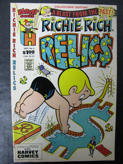 Richie Rich Relics No.3, September Comic