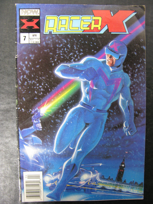 Racer-x Vol.1 No.7, April 1988 Comic