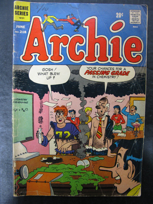 Archie No.218, June 1972 Comic