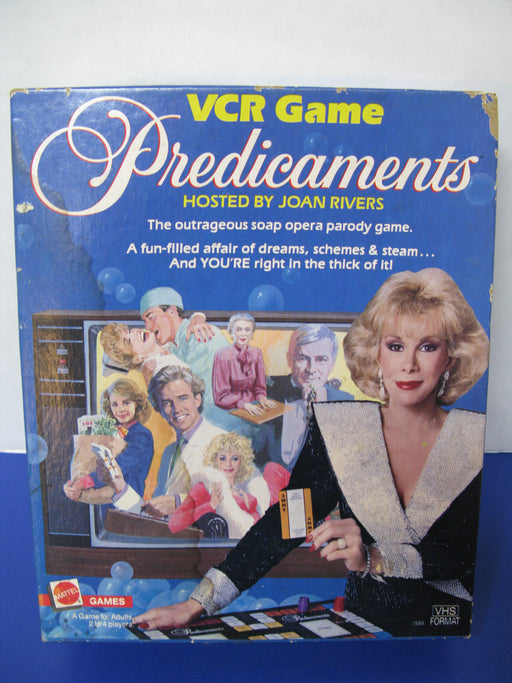 VCR Game-Predicaments Board Game