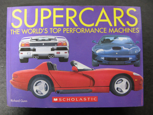Super Cars-The Wold's Top Performance Machines Book
