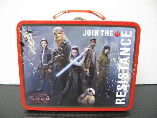"Star Wars The Last Jedi ""Join the Resistance"" Lunchbox The Tin Box Company"