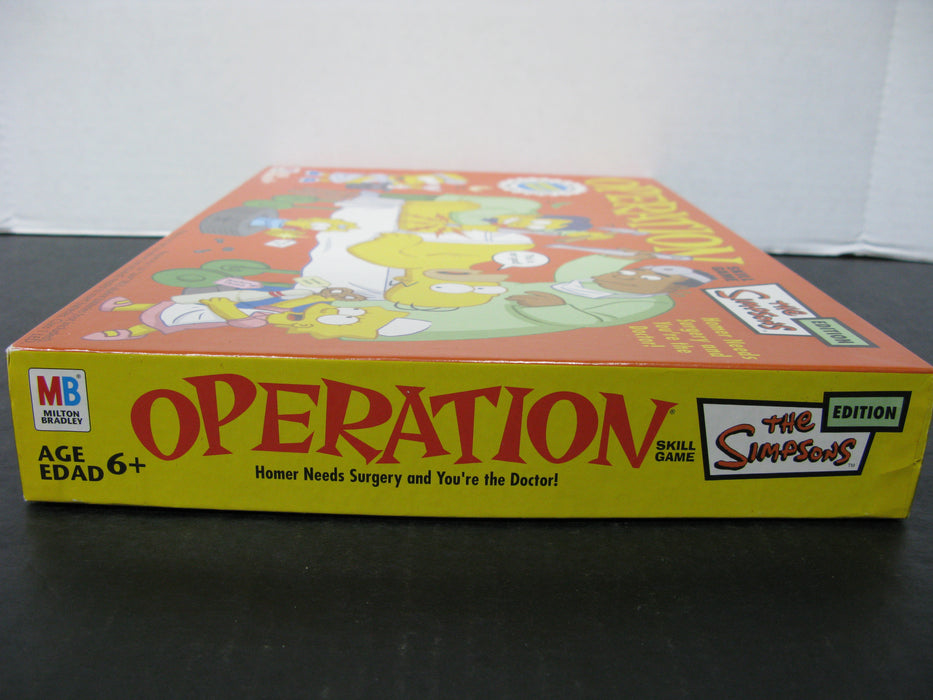 Operation Skill Game The Simpsons Edition , Milton Bradley (all parts are there)