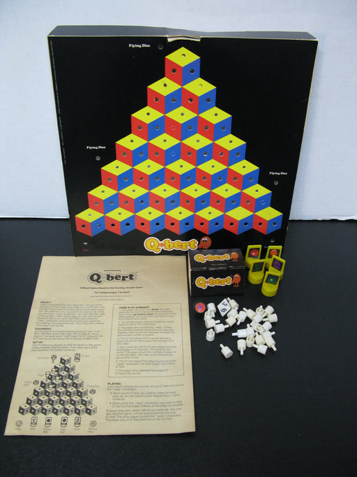 Vintage Q-Bert Board Game