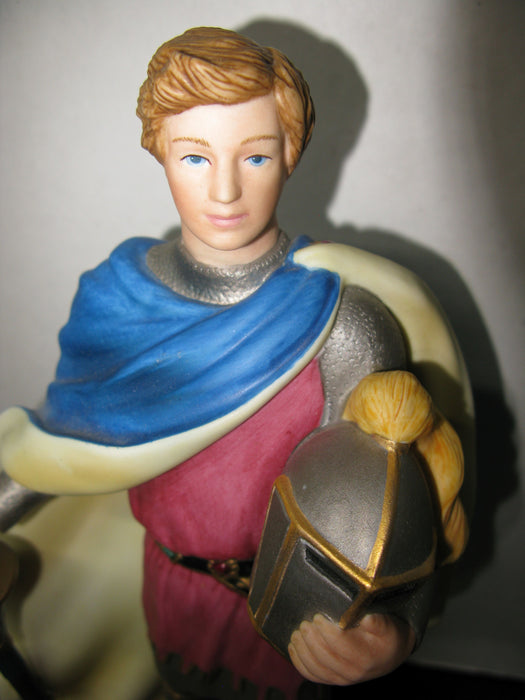 Sir Lancelot The Legendary Princesses Porcelain Statue