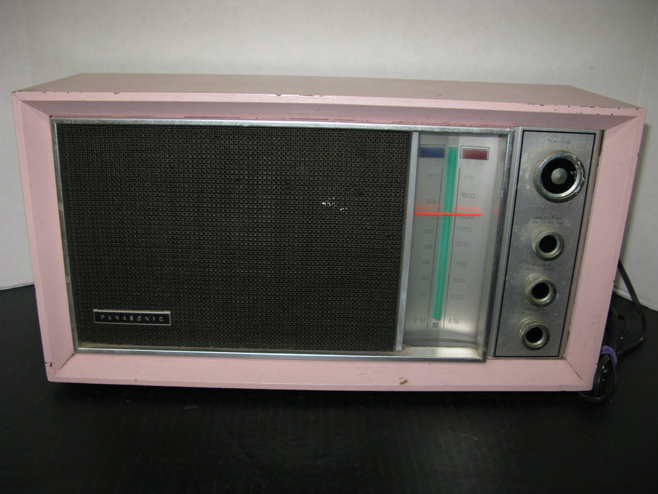 Panasonic Model Re-7259 FM-AM 2-Band