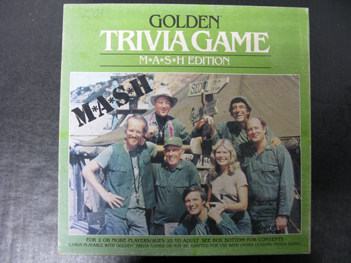 Golden Trivia Game M.A.S.H. Edition