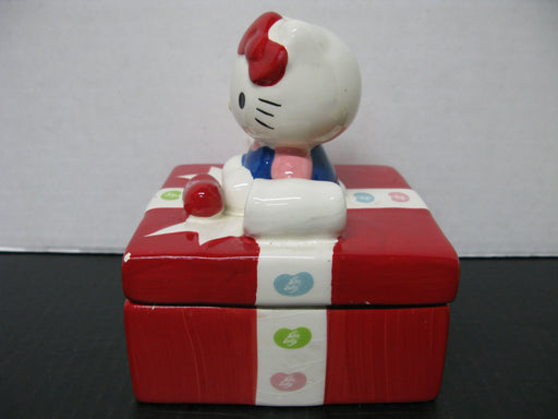 Hello Kitty Jelly Belly Ceramic Container