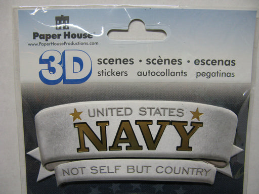 3D Stickers-United States Navy