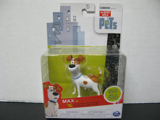 The Secret Life of Pets Max Poseable Pet Figure