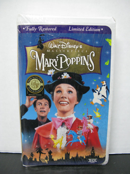 Mary Poppins VHS Limited Edition