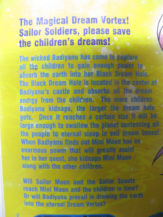 Sailor Moon The Movie Super S Black Dream Hole