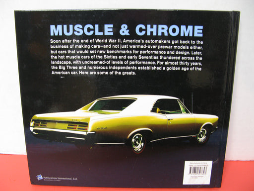 Muscle & Chrome-Classic American Cars