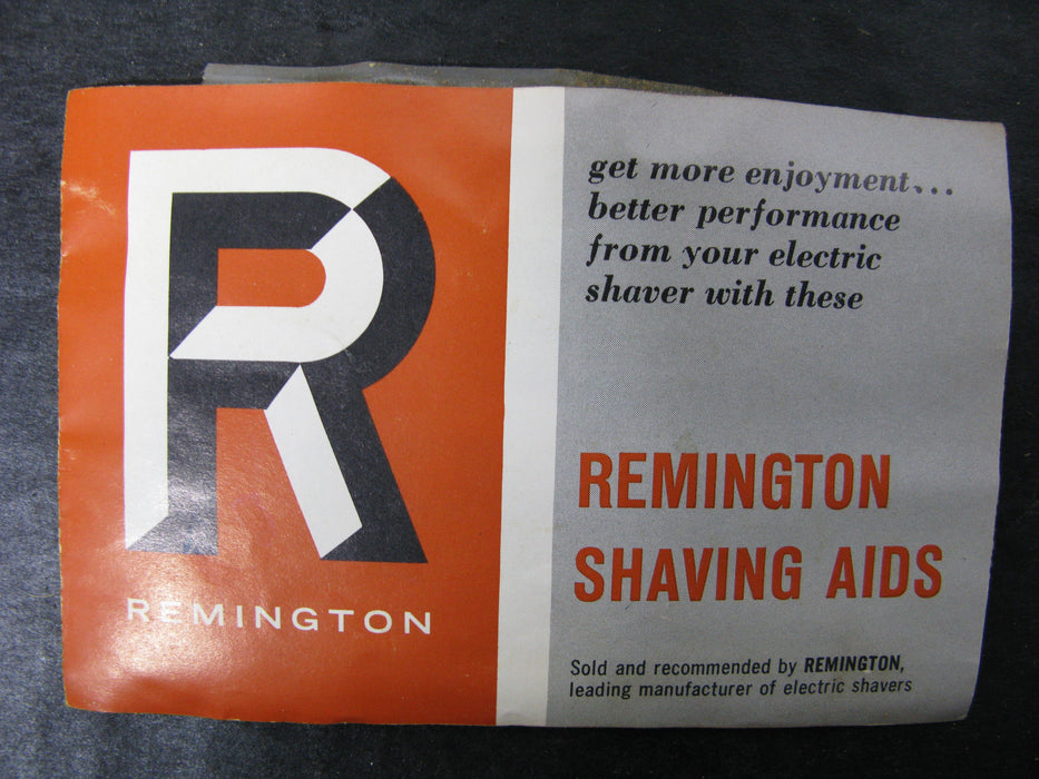 Vintage Remington Shaving Aids Rollectric Auto Home