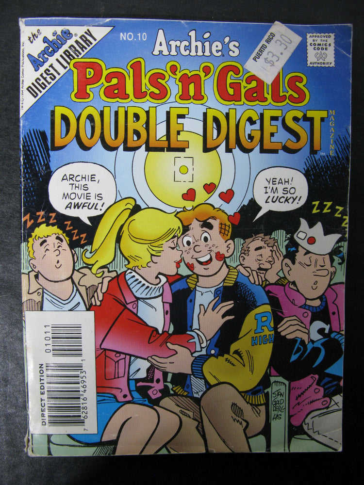 Archie's Pals 'N' Gals Double Digest Magazine No.10
