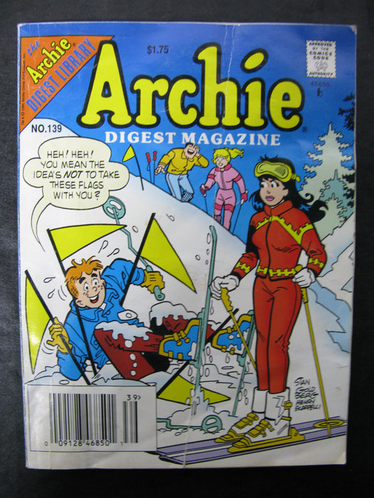 Archie Digest Magazine Number 139