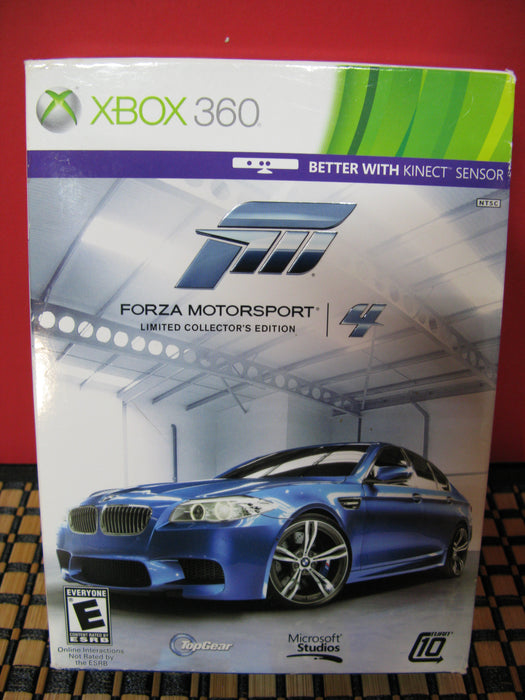 Xbox 360 Forza Motorsport 4 - Limited Collector's Edition