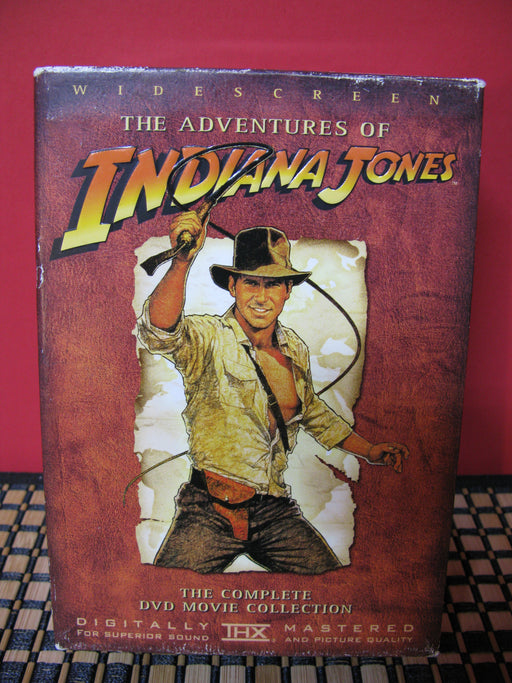 The Adventures of Indiana Jones-The Complete DVD Movie Collection
