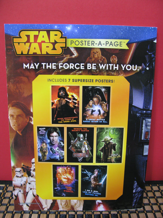 Star Wars Heroes and Villains Poster-A-Page/Star Wars Darth Vader and Son Book