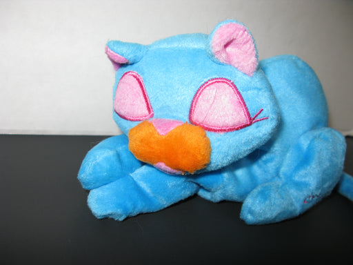 Blue Dreamer Plush Cat