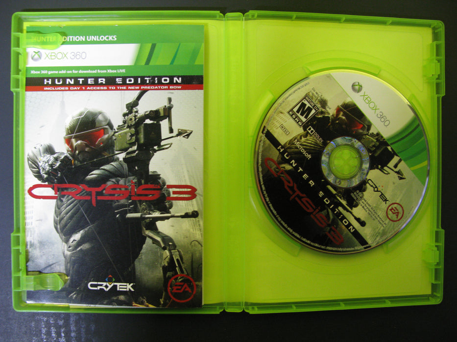 Xbox 360 Crysis 3 Hunter Edition