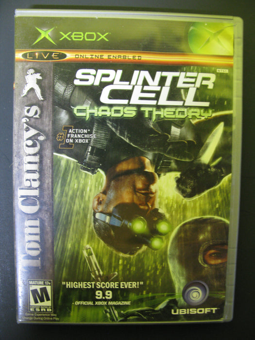 Xbox Splinter Cell Chaos Theory