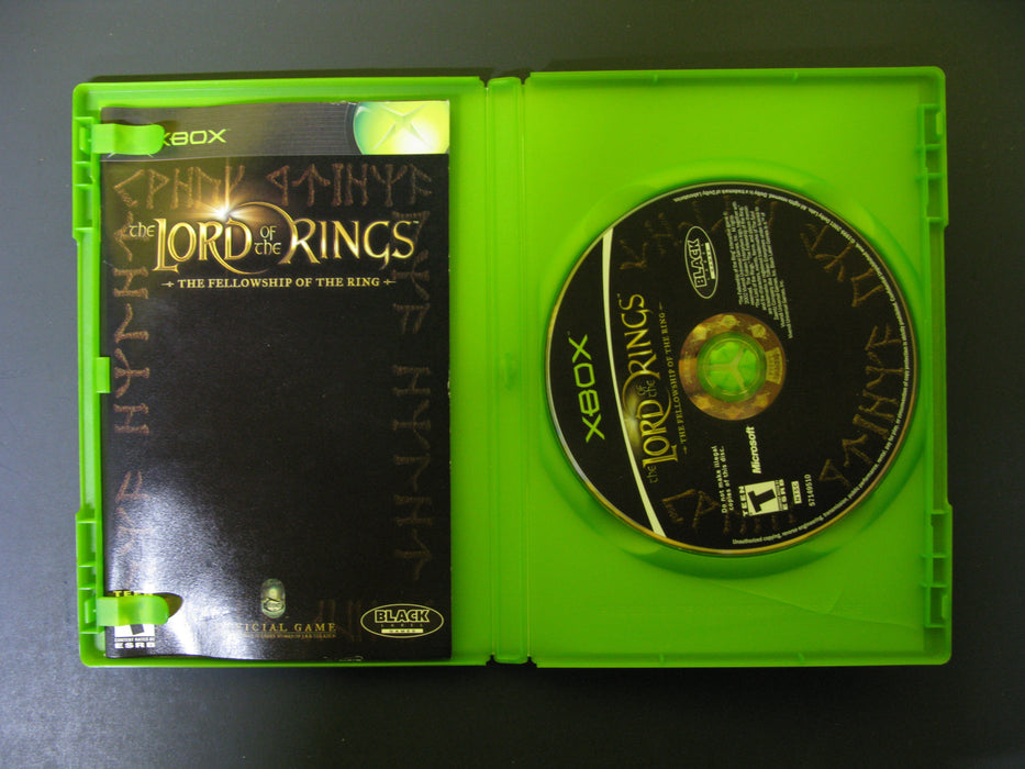 Xbox The Lord of the Rings The Fellowship of the Ring