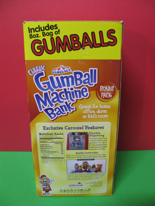Classic Gumball Machine Bank