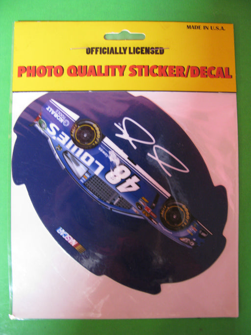 Sticker/Decal-Jimmie Johnson